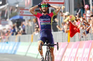 """Итальянец Диего Улисси выиграл четвертый этап """"Джиро д"""
