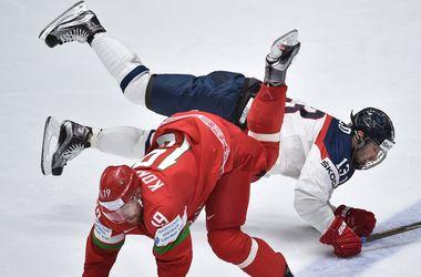 Сборная Беларуси выиграла первый матч на чемпионате мира по хоккею
