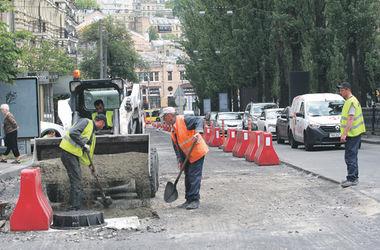 Большой ремонт: дорогу в центре Киева починят за 72 миллиона