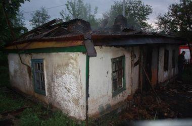 В Кировоградской области во время пожара сгорели 4 человека
