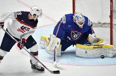 Сборная США обыграла Францию на чемпионате мира по хоккею