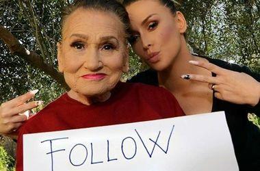 Молодильный мейкап: 80-летняя бабушка взорвала Интернет гламурным макияжем (фото)