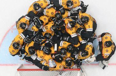 Немцы обыграли американцев на чемпионате мира по хоккею