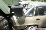 В Николаеве армейский грузовик устроил тройное ДТП (фото)