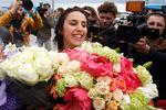 "<p>Джамала поблагодарила за поддержку на ""Евровидении"", фото AFP</p>"