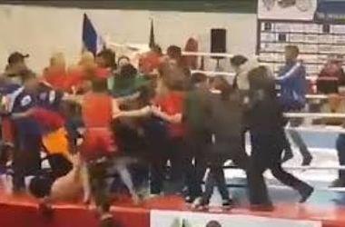 На Чемпионате Европы по кунг-фу во Львове произошла массовая драка (видео)