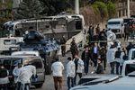 <p>Взрыв в Стамбуле. Фото: AFP</p>