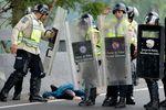 <p>Каракас. Протесты в стране привели к стычкам с силовиками. Фото<span>АFP</span></p>