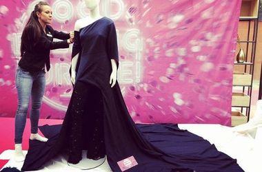 <p>Платье уже красуется в музее. Фото:instagram.com/ivfrolov</p>