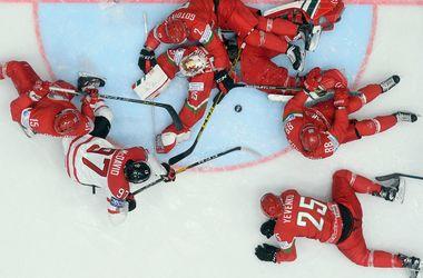 Чемпионат мира по хоккею: трансляция матча Канада - Франция
