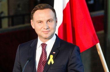 """Президент Польши Дуда выступил против """"холодной войны"""" НАТО и России"""