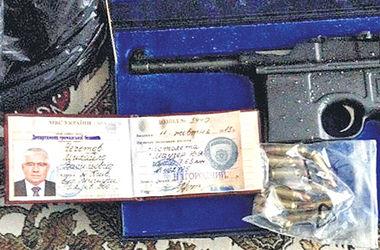 В Киеве у торговцев оружием нашли уникальный пистолет Чечетова