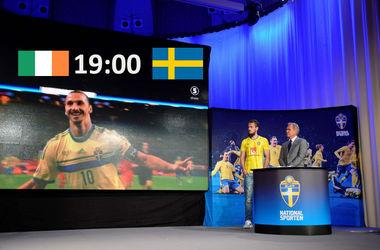 Евро-2016: онлайн матча Ирландия - Швеция