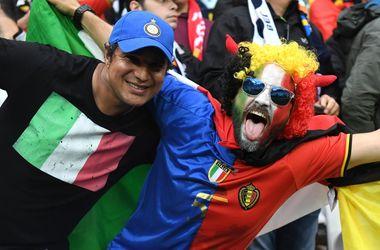 Евро-2016: онлайн матча Бельгия - Италия