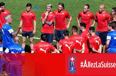 Сборная Швейцарии назвала предварительный состав на Евро-2016