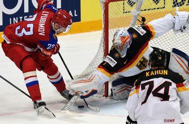 Россия уверенно вышла в полуфинал чемпионата мира по хоккею