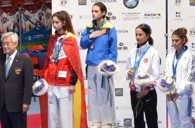 Украинка Ирина Ромолданова завоевала золотую медаль на чемпионате Европы по тхэквондо