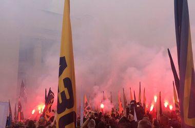 """Марш """"Азова"""" под Радой: организаторы выдвинули власти жесткий ультиматум"""