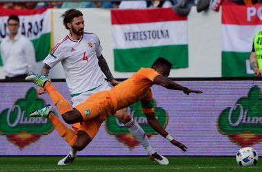 Сборная Венгрии сыграла вничью с Кот-д