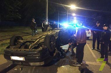 В Одессе во время оформления ДТП неизвестные похитили виновника аварии
