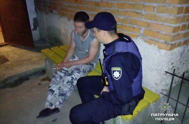 Пьяный житель Тернополя пытался покончить с собой из-за ситуации в стране