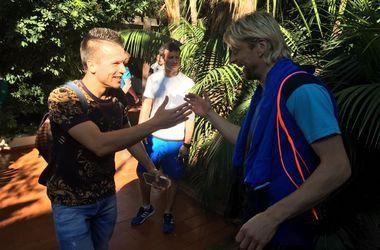 Евгений Коноплянка присоединился к сборной Украины