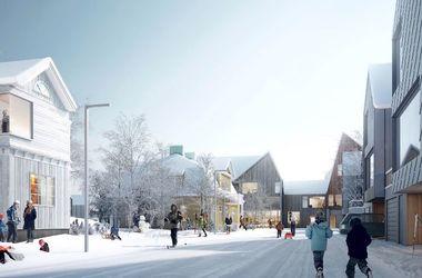 В Швеции собираютя передвинуть целый город