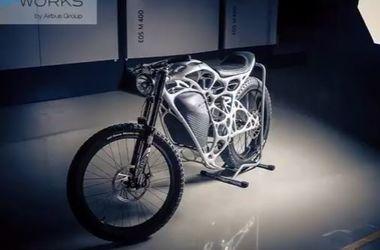 Немцы распечатали мотоцикл на 3D-принтере стоимостью почти 1,5 миллиона гривен
