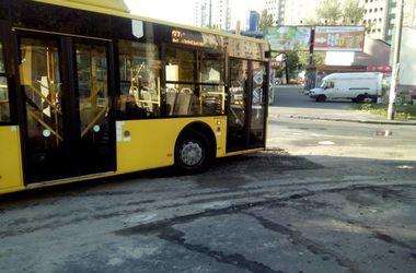 В Киеве с вечера до утра не ходили троллейбусы