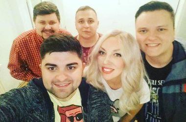 На концерте в Черновцах Олю Полякову пригласили на свадьбу