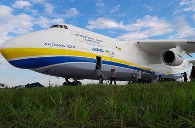 """Самолет-гигант """"Мрия"""" вернулся в Украину"""