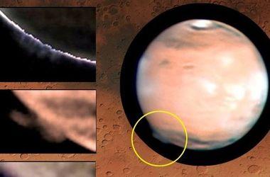 Ученые объяснили происхождение таинственного облака на Марсе