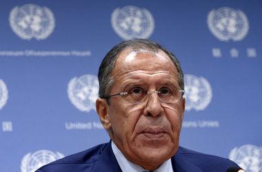 Россия не будет обсуждать условия для отмены санкций – Лавров
