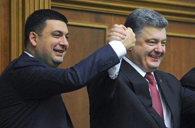 Украинцы рассказали, что думают о Порошенко и Кабмине Гройсмана