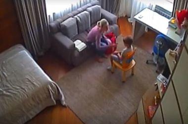Родители попались на скрытую камеру