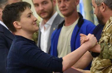 Савченко напомнила властям, что на Донбассе война, а не АТО