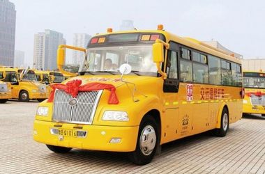 В Китае перевернулся школьный автобус, погибли 2 человека