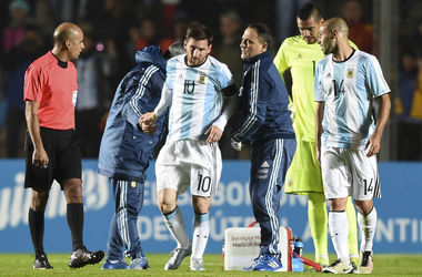 Лионель Месси получил травму в матче с Гондурасом