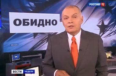 """Главред российской газеты назвал Киселева """"сексотом и негодяем"""""""