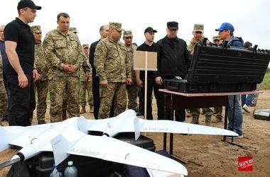 Украина испытала боевые дроны