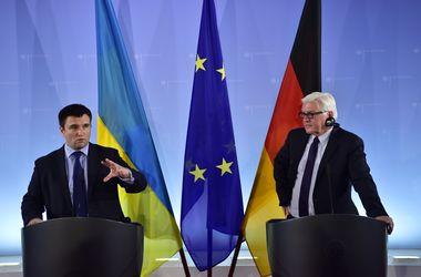"""Главы МИД Украины и Германии обсудили """"дорожную карту"""" безвизового диалога"""