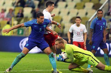 Сборная Польши проиграла товарищеский матч Голландии