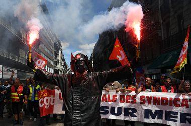 В Марселе за 10 дней до матча Евро-2016 прошли массовые протесты
