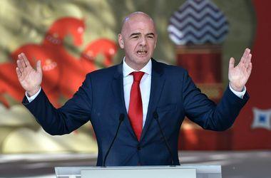 Президента ФИФА Джанни Инфантино могут отстранить на 3 месяца