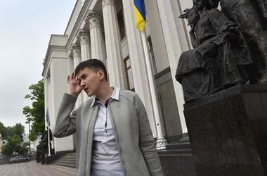 <p>Надежда Савченко. Фото: AFP</p>