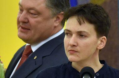 Порошенко рассказал, сколько он говорил с Путиным об освобождении Савченко
