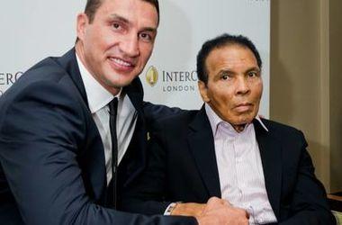 """Владимир Кличко: """"Мохаммед Али - величайший во все времена"""""""