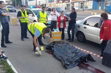 Жуткое ДТП в Киеве: отлетевшее от авто колесо убило мужчину