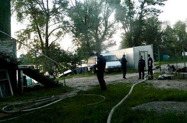 В Киеве неизвестные подожгли офис