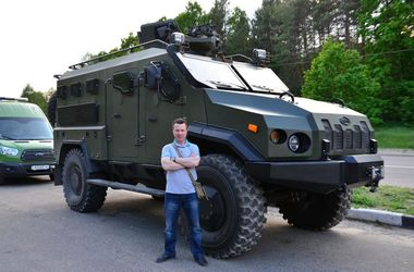 """Как выглядит новый украинский броневик """"Варта"""": характеристики и внешний вид"""